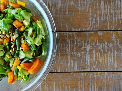 Recipe: High Protein Salad for Vegans